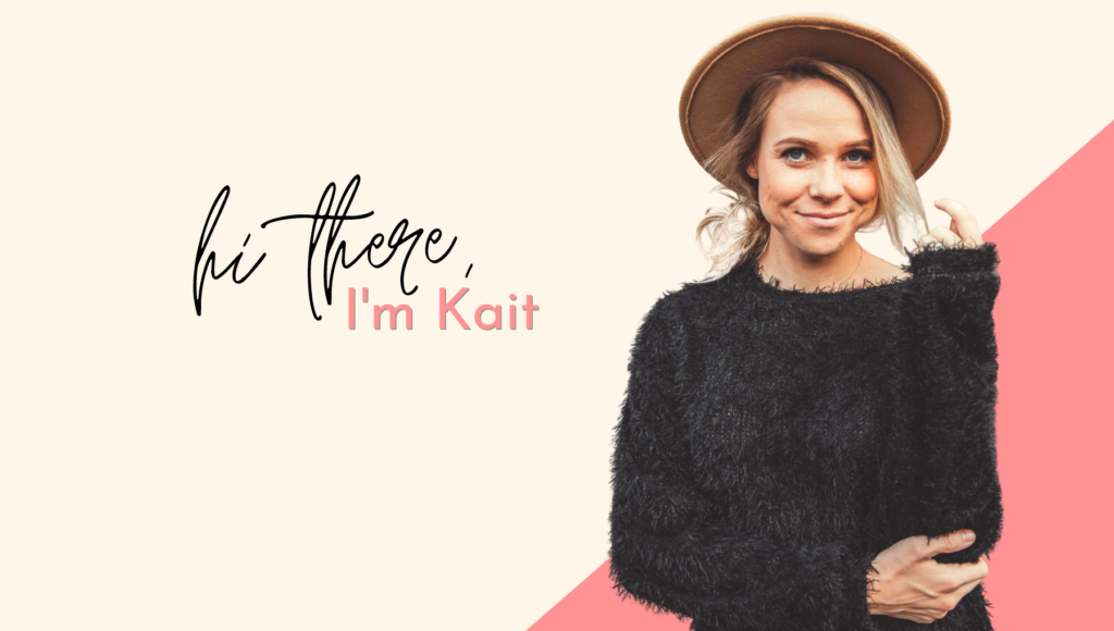 welcome to loved by kait blog hi there i'm kait
